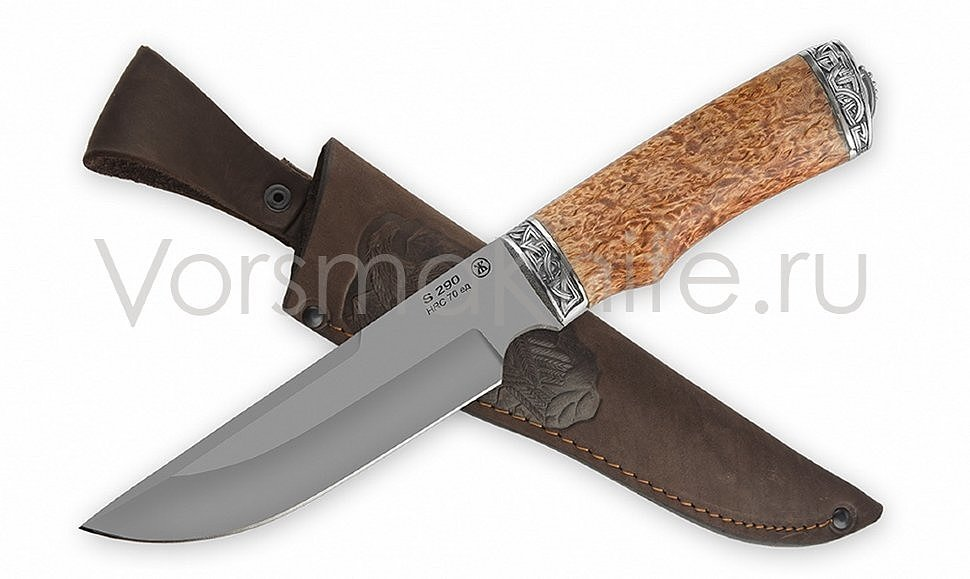 Туристический нож Золотоискатель карелка S290